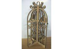 Vintage Jewellery Cage by Paperkutz