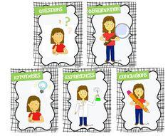Affichages démarche scientifique Grade 2 Science, Stem Science, Elementary Science, Teaching Science, Science For Kids, Science And Technology, Science Experience, Teaching Letters, Kindergarten Lessons