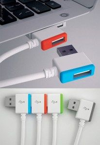 Keep multiple cables plugged in at once!