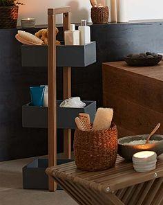 sauna im bad unterhalb einer dachschr ge badeplatz. Black Bedroom Furniture Sets. Home Design Ideas