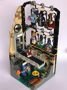 00 | by SpaceBrick Lego Dc, Batman Lego Sets, Batman Batman, Lego Minifigure Display, Lego Custom Minifigures, Lego Batmobile, Lego Machines, Box Container, Lego Sculptures