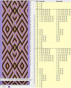 32 tarjetas, 4 colores, repite cada 24 movimientos // sed_270 diseñado en GTT༺❁