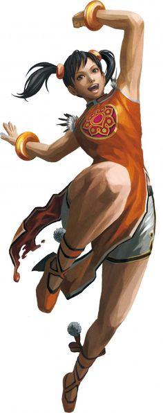 Street Fighter X Tekken Game Art -Ling-Xiaoyu-Character-Render Video Game Characters, Cartoon Characters, Female Characters, Female Character Design, Character Art, Tekken Girls, Street Fighter Tekken, Video X, Comic