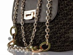 Glamour, Wallet, Chain, Fashion, Brown Purses, Moda, Fashion Styles, Necklaces, The Shining