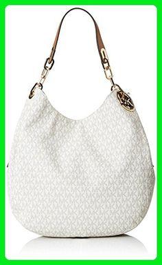 feda5714ae402 MICHAEL Michael Kors Signature Large Fulton Shoulder Bag (Vanilla) - Shoulder  bags (
