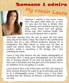 Someone I admire | describing people LearnEnglishTeens
