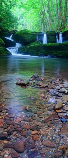 Tranquillity at the Great Smoky Mountains National Park in Tremont, Tennessee • photo: abennett23 on Flickr