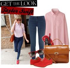 """""""Get The Look: Taylor Swift Got Tailored"""" by themissnanette ❤ liked on Polyvore"""