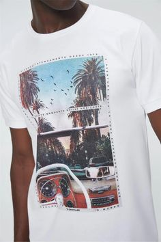 T-Shirt-Print-Va-in-Front-Male-Detail-- Printed Shirts, T Shirt, Men's, Block Prints, Tee Shirt, Printing On T Shirts, Tee
