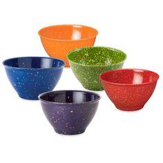 Rachael Ray garbage bowls. My husband needs this sooo bad!