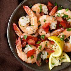 Shrimp Marinated in Lemon and Olive Oil