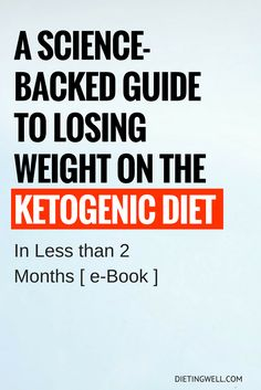 Guide to Losing Weight on the Ketogenic Diet