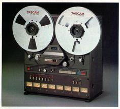 "Tascam 38B; 8 track, 10 1/2"" reel to reel tape deck."