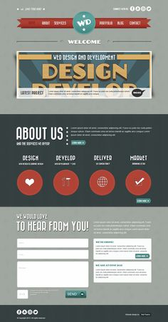 Design a Retro Layout in Photoshop: Wrapping Up | Webdesigntuts+