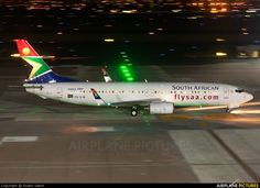 ZS-SJB South African Airways Boeing 737-800