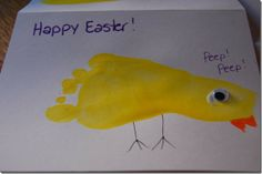 Cute easter card to send to gparents