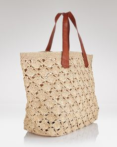 mar Y sol - Valencia Crocheted Tote