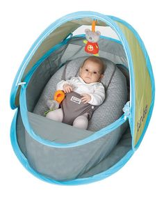 Blue Pop-Up Sun Shelter Tent by Tinéo #  sc 1 st  Pinterest : beach tents for infants - memphite.com
