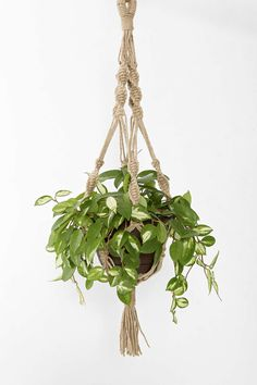DIY: Made from Jute string. Jute is a long, soft, shiny vegetable fiber that can be spun into coarse, strong threads. It is produced primarily from plants in the genus Corchorus
