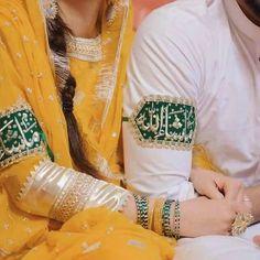 Nikkah Dress, Pakistani Bridal Dresses, Pakistani Dress Design, Mehndi Dress, Beautiful Girl Makeup, Beautiful Girl Photo, Beautiful Couple, Beautiful Love Images, Wedding Couple Poses Photography