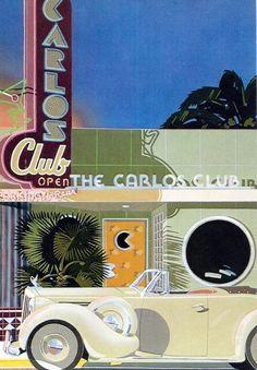 The Carlos Club by Dennis Ziemienski 1979 Paper Moon Graphics