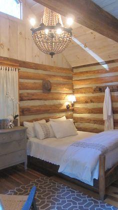 Blacksmith Shop Cottage at the Mast Farm Inn in Valle Crucis, North Carolina, looks like my upstairs!