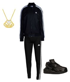 """""""Untitled #44"""" by kennedybolden on Polyvore featuring adidas, adidas Originals and NIKE"""