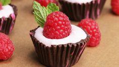 Chocolate Raspberry Cups