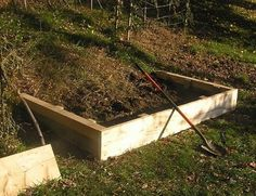 Building a cheap terraced hill-side garden. The outcome in the blog isn't sexy, but the concept is there and I bet this could be done pretty elegantly for just as low a cost. Picture stacked terraces with flowers overflowing...