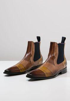 Melvin & Hamilton Classic Wood/Yellow Sand/Navy Elvis 12 Boots - Mens ME-au-8466 : TITLES, Fashion Men's Online | Buy Cheap Designer Clothes and Shoes