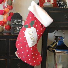 Personalised Christmas Stocking - Stockings & Sacks - Christmas