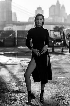 Bella Hadid, photographed by Joseph Paradiso & Yuki