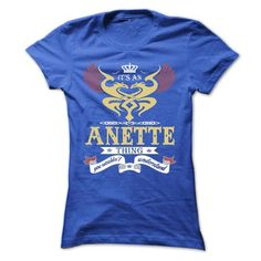 its an ANETTE Thing You Wouldnt Understand  - T Shirt,  - #hoodie for girls #comfy sweatshirt. GET IT => https://www.sunfrog.com/Names/its-an-ANETTE-Thing-You-Wouldnt-Understand--T-Shirt-Hoodie-Hoodies-YearName-Birthday-44958265-Ladies.html?68278