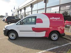 Van graphics for Elhapé printers in IJzendijke, The Netherlands