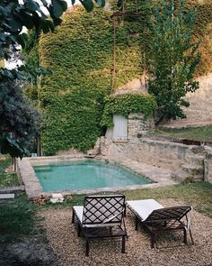 Outdoor Living, Outdoor Decor, Old World Charm, Landscape Architecture, Swimming Pools, Restoration, Instagram, Building, Travel