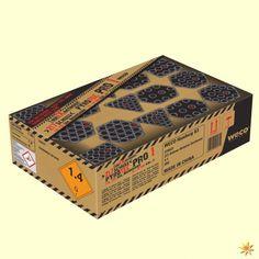 Pyro Tec Pro 1, 217 Schuss Verbundfeuerwerk: Insgesamt hat dieses Verbundfeuerwerk eine Effektdauer von 135 Sekunden, also über 2 Minuten. #Feuerwerk #Verbundfeuerwerk