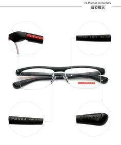 PRADA glasses VPS04C_1BO_5
