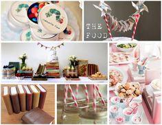book swap party, food ideas