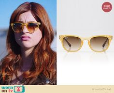 Gretchen's metallic bronze leather jacket and yellow sunglasses on You're the Worst Best New Shows, You're The Worst, Shades Of Red Hair, Character Creation, Faux Leather Jackets, Opal, Style Me, Fashion Inspiration, Free People
