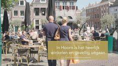 In Hoorn is het heerlijk winkelen en gezellig uitgaan.
