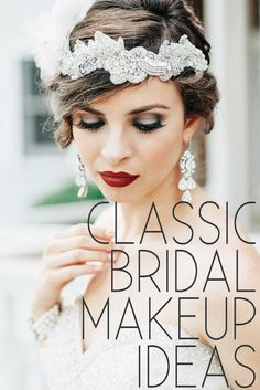 Aside from the dress, deciding on that final makeup look is a difficult choice for all brides. Whether you want something glamourous like Kim Kardashian, traditional like Kate Middleton or a combination of the two, we have paired up with Make Up Store to bring you five key makeup looks for every bride.