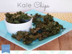 Kale Chips.  Healthy snack for kids.  And adults too.