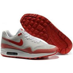 http://www.asneakers4u.com/ 454745 012 Nike Air Max 1 Hyperfuse Grey White Pink D03057 | nike air max 2013 | Pinterest | Air Max 1, Nike Air Max and Nike ...