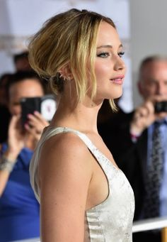 Jennifer Lawrence at an event for The Hunger Games: Mockingjay - Part 1 (2014)