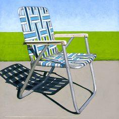 Leah Giberson - Chair in the Sun, 2011