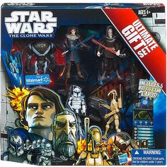 Star Wars Clone Wars Ultimate Gift Pack