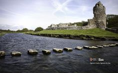 August 2011 - Ogmore Castle, Ogmore-by-Sea, South Wales