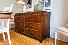 In Keeping With Her Style Of Mixing Old And New Host Nicole Curtis Used A Eclectic Dining RoomsAntique DressersNicole CurtisHer StyleHill