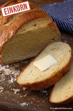 Einkorn dutch oven bread recipe