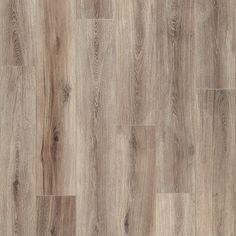 Mannington Restoration Fairhaven Brushed Taupe Laminate Flooring 7 9/16